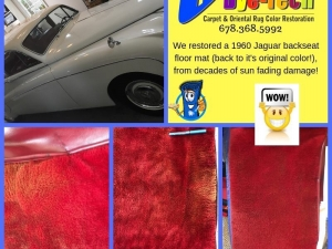 Vehicle Carpet & Upholstery Dyeing by Carpet Dye-Tech in Atlanta, GA
