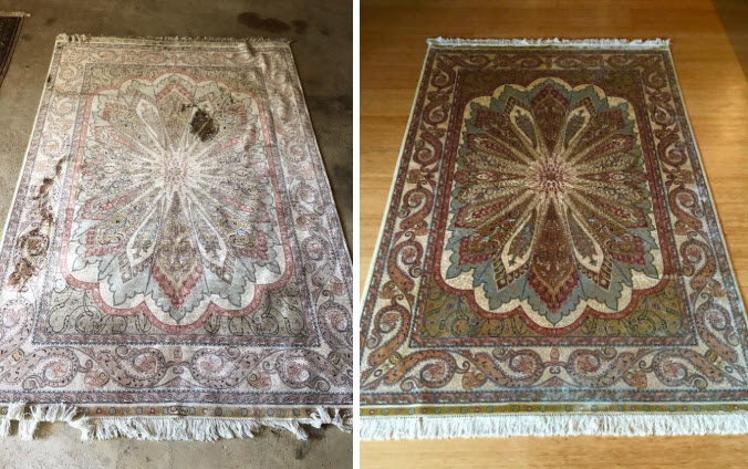 Oriental Amp Persian Area Rug Color Restoration Carpet Dye