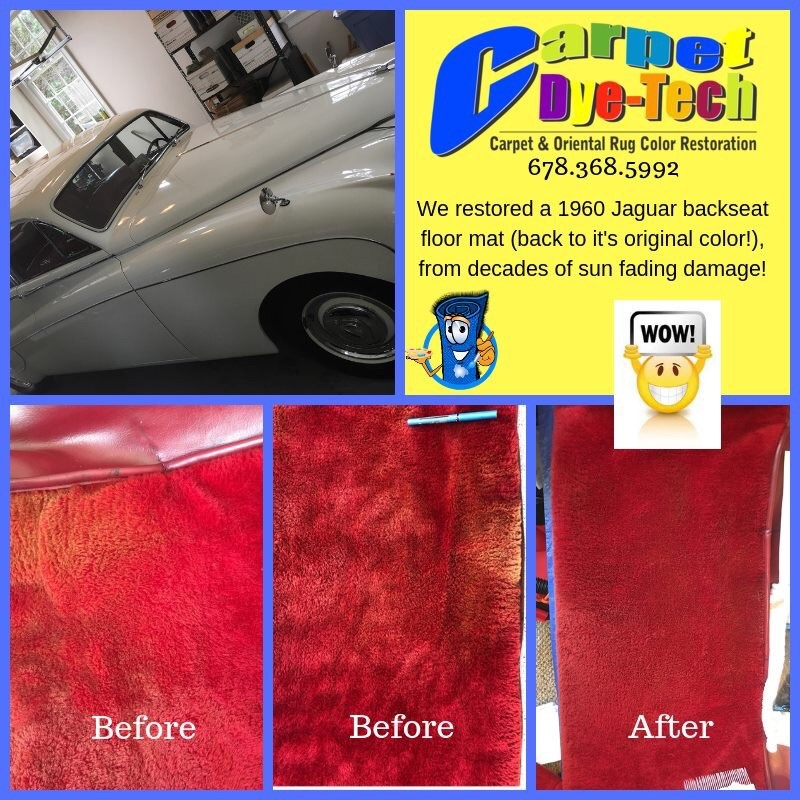 Carpet Dyeing Of Recreational Vehicles Rvs Automobiles